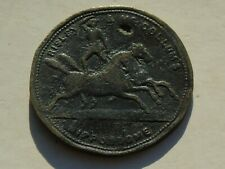 More details for risley mccollums hippondrome token / pass circus / usa interest, poor / rare