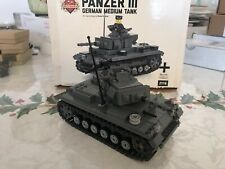 Brickmania Panzer 3 German Medium Tank
