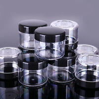 10 Pcs Plastic Empty Container Nail Decoration Boxes Beads Jewelry Storage Cases