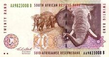 Afrique du sud  - South Africa billet neuf de 20 rand pick 124a UNC