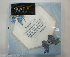 "Scottish Napkins, ""BURNS SUPPER"" - Bluebells and Grace with Burns Poems"