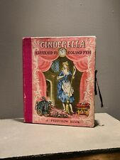 VINTAGE PEEPSHOW STORY BOOK CINDERELLA ROLAND PYM POP UP BOOK