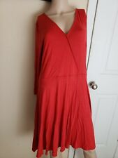 Forever 21 plus size 2x Red dress NWT knee Length