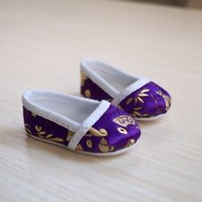 "Purple Chinese Ancient costume Shoes For Male 1/3 24"" BJD SD AOD DOD DD DZ Doll"