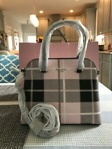 KATE SPADE Maise Medium Dome Satchel wkru5883 Pink Multi