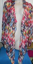 No Boundaries Wrap Multicolored Sz 2Xl 100% Polyester Shirt Tie