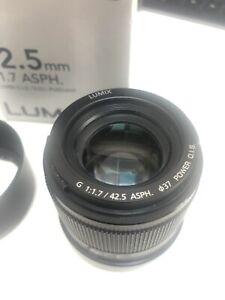 Panasonic Lumix G 42.5mm F1.7 Lens