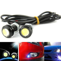 2PCS 12 LED DC 12V 15W Eagle Eye LED Daytime Running DRL Car Lamp Backup Light