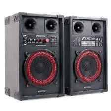 Enceintes Active Amplifié 2X Haut Parleur Sono Pa Hifi Karaoke Usb Sd Mp3 Micro