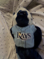 "Forever Tampa Bay Rays Hanging Monkey 20"" Plush Soft Toy Stuffed Animal"