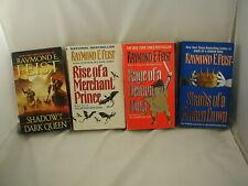 Raymond E Feist Riftwar Serpentwar Saga 4 Books Shadow of a Dark Queen + 3 More