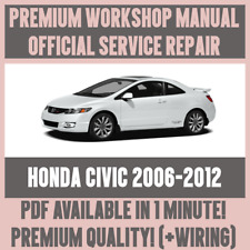 *WORKSHOP MANUAL SERVICE & REPAIR GUIDE for HONDA CIVIC 2006-2012 +WIRING
