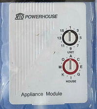 X-10 Powerhouse Appliance Module AM486 for Home Security Just Plug in New