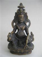 Chinese Tibetan Bronze buddha Bodhisattva Buddha Statue Decoration