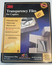 3M PP2200 Transparency Film for Copiers