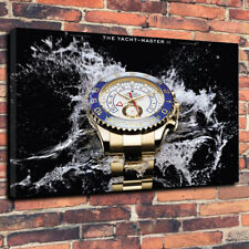 """Vintage Classic Watch Printed Box Canvas Picture A1.30""""x20"""" 30mm Deep Mancave"""