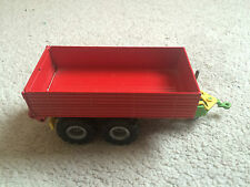 Siku Farmer Serie 1:32 2552 RED 2-Axled Tipping Trailer Tandem Britains Scale