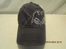Levi Strauss Signature Embroidered Eagle, Plaid Pattern Cap Hat