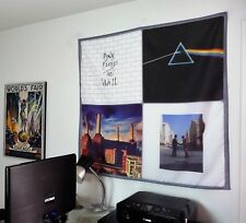 PINK FLOYD The Wall Dark Side of the Moon Animals 4x4 poster banner tapestry