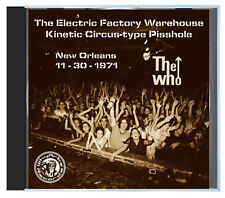 The WHO at The Warehouse, New Orleans, Nov 1971, LIVE on CD