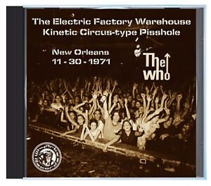 THE WHO at The Warehouse, New Orleans, November 1971, LIVE on CD