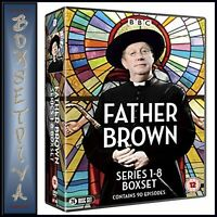 FATHER BROWN COMPLETE SERIES 1 2 3 4 5 6 7 & 8  ** BRAND NEW DVD BOXSET ****
