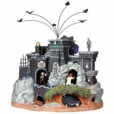 Lemax 94961 VAMPIRE CAVERNS Spooky Town Building Animated Halloween Decor I