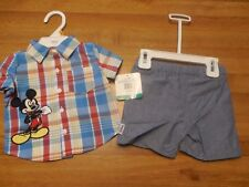 Disney Mickey Mouse Boys Newborn Clothes Size 0 to 3 Months Brand New