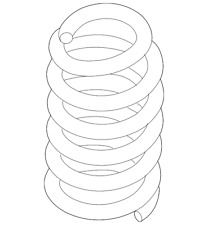 Genuine Ford Coil Spring AA8Z-5560-D