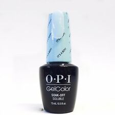 OPI Gel Polish Gel Color GelColor Soft Shades PASTEL Variations .5oz/15mL