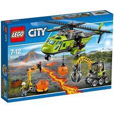 LEGO City 60123  Vulkan-Versorgungshelikopter   NEUHEIT 2016 OVP-