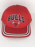 Vintage 90s Chicago Bulls NBA Drew Pearson Snapback Hat Cap