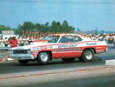 "Butch ""California Flash"" Leal 1973 Plymouth Duster ""Mopar"" Pro Stocker PHOTO!"