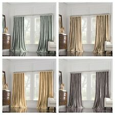 Valeron® Estate Double Width 100% Silk Ultimate Luxury Window Panel