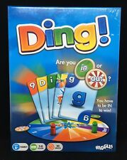 NEW sealed Ding! Wiggles Card Board Game Family Night Fun Great GIFT 8+ 3-8 play
