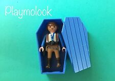 OFERTA! UNICO! ATAUD OESTE COFFIN CERCUEIL CUSTOM PLAYMOBIL FIGURA NO INCLUIDA