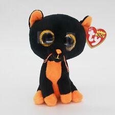 "6"" Ty Beanie Boos Black Mouse Baby Plush Stuffed Animals Soft Kids Toys CS"