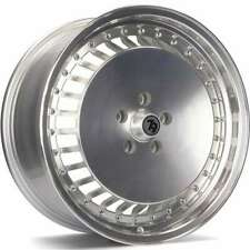 """15"""" 79Wheels SV-G Alloy Wheels 'Schmidt' 4x100 Silver Polished fits Renault Clio"""