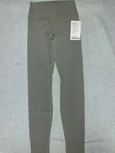 "Lululemon Wunder Under High-Rise Tight 28""  Sea Moss Size 6"