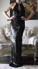 STELLA McCARTNEY Red Carpet,Runway Fully Sequinned Long dress It 38,US 0-4,XXS