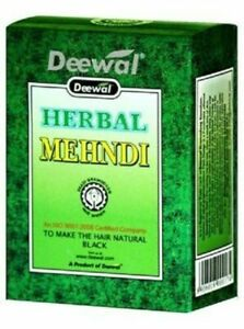 Deewal Herbal Mehandi Heena Hair Color 100% Natural // 80 Gm + Free Ship