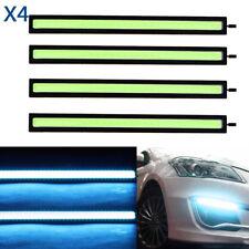 4x 12V LED Strip DRL Daytime Running Light Fog COB Car Lamp Ice Blue Day Driving
