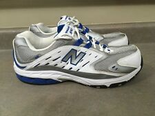 """New Balance """"550"""" Size 13 4E EEEE Men's Athletic Shoes White/Blue/Silver"""