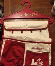 AMERICAN GIRL Red Organizing WARDROBE HANGER