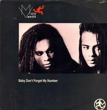 """Milli Vanilli(12"""" Vinyl P/S)Baby Don't My Number-Cool tempo-COOL X 178-VG/VG"""