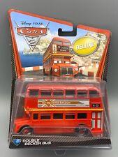 Disney Pixar Cars 2 Deluxe Double Decker Bus #4 by Mattel diecast
