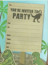 Jurassic Park Dinosaur Party Supplies Invitation Pad 20 Sheets