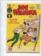 JOE PALOOKA #114 - JOE PALOOKA MEETS THE FIGHTING BALONKIS! - (9.0) 1960!