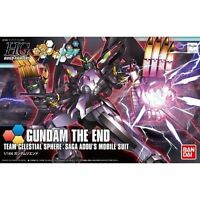 BANDAI HGBF 1/144 GUNDAM THE END MODEL KIT Gundam Build Fighters from Japan