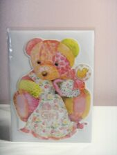 "Carol's Rose Garden - Teddy Bear ""it's a Girl"" Card"
